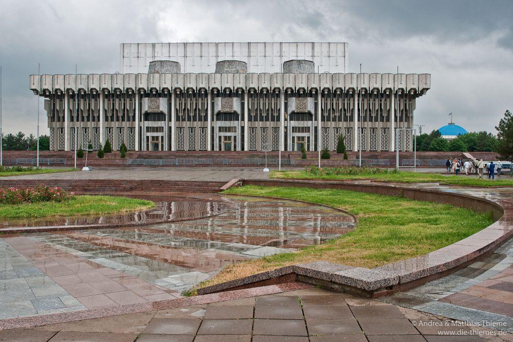 Bunyodkor Square (früher Platz der Völkerfreundschaft), Tashkent