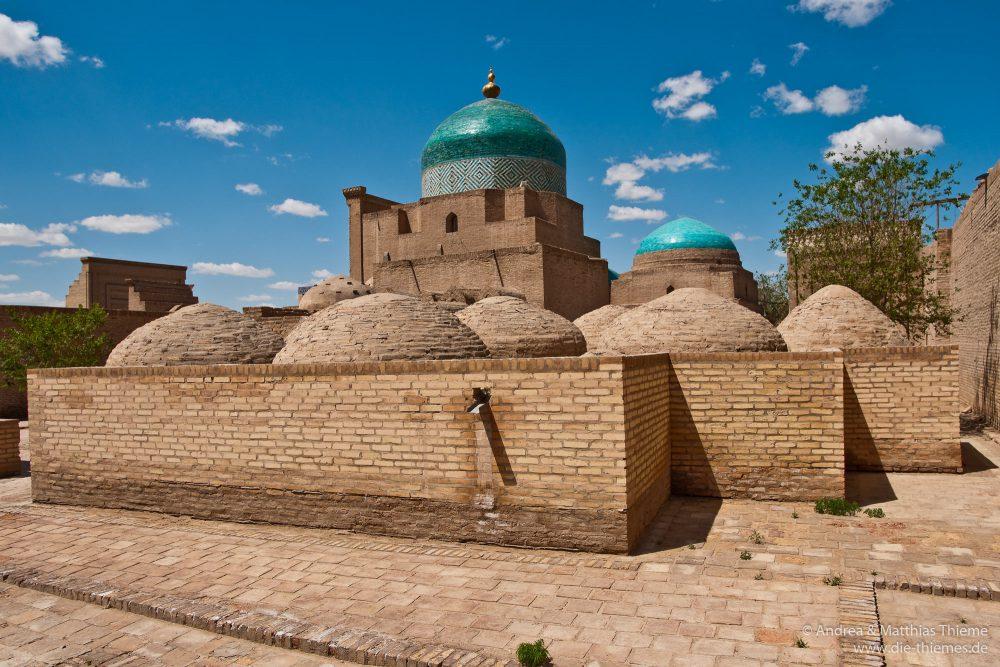 Mausoleum Pakhlavan-Makh-mud (Chiwa), Usbekistan